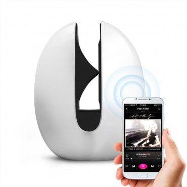 """Bluetooth hangszóró Mocreo """"Mosound Echoes"""" - fehér"""
