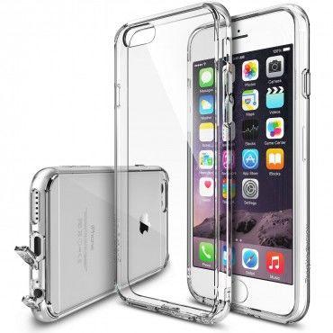 """Tok Ringke """"Fusion"""" iPhone 6 / 6S készülékekhez - crystal view"""