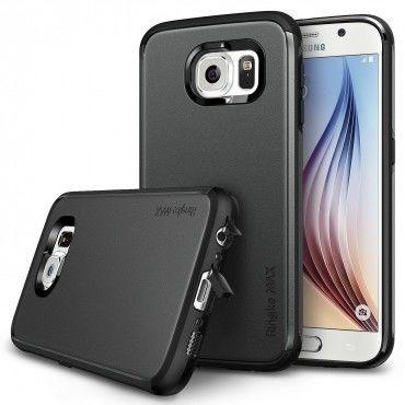 """Ringke """"Max"""" védőtok Samsung Galaxy S6 készülékekhez – gunmetal"""