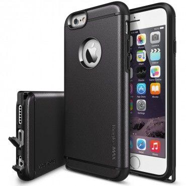 """Ringke """"Max"""" védőtok iPhone 6 / 6S készülékekhez – fekete"""