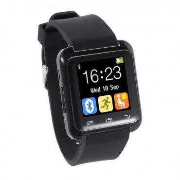 """""""U-Tech"""" Bluetooth okosóra Android készülékekhez - fekete"""