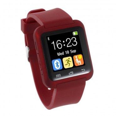 """""""U-Tech"""" Bluetooth okosóra Android készülékekhez - piros"""