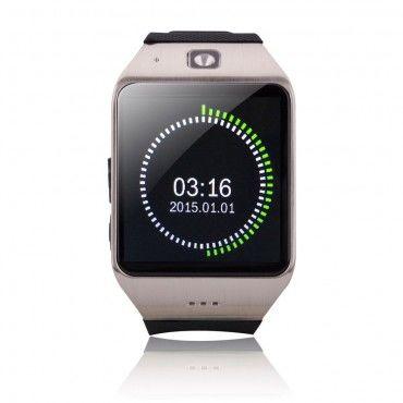 """""""GT-X0"""" Bluetooth és NFC okosóra Android készülékekhez - ezüst"""