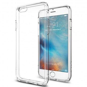 """Spigen SGP """"Ultra Hybrid"""" védőtok iPhone 6 / 6S készülékekhez – crystal clear"""