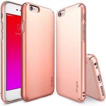 "Ringke ""Slim"" védőtok iPhone 6S telefonokhoz – rose gold"