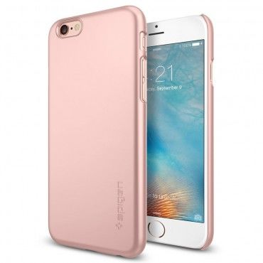 """Spigen SGP """"Thin Fit"""" védőtok iPhone 6 / 6S készülékekhez – rose gold"""
