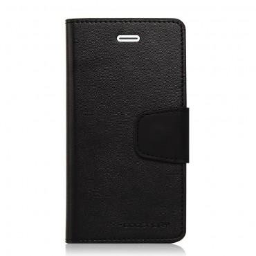 Elegáns Goospery Sonata tárca iPhone 6 / 6S készülékekhez – fekete