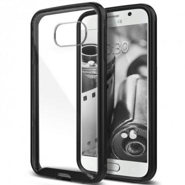 Caseology Waterfall Series védőtok Samsung Galaxy S6 telefonokhoz – metálfekete
