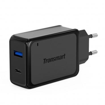 Tronsmart Quick Charge 3.0 töltő, USB és USB-C kimenettel