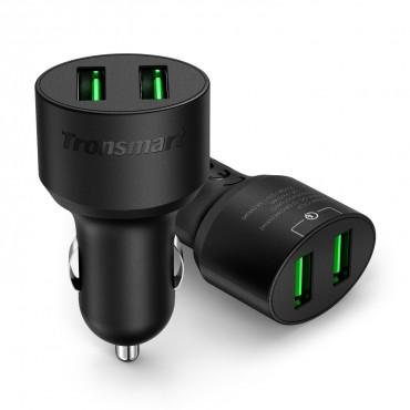 Premium 2-Port autós töltő Tronsmart Quick Charge 3.0