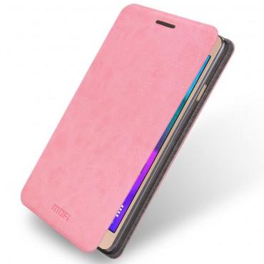 """Prémium nyitható tok """"Grui"""" Samsung Galaxy A5 (2016) készülékekhez - rózsaszín"""