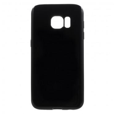 TPU gél tok Samsung Galaxy S7 készülékekhez - fekete