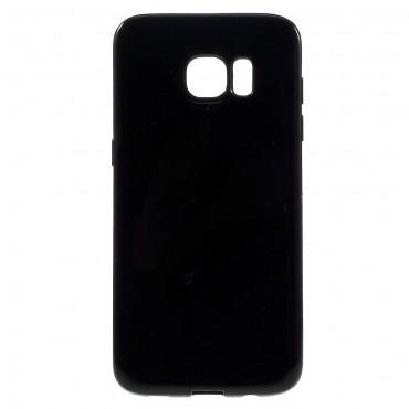 TPU gél tok Samsung Galaxy S7 Edge készülékekhez - fekete