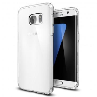 """Spigen """"Ultra Hybrid"""" védőtok Samsung Galaxy S7 Edge készülékhez – crystal clear"""