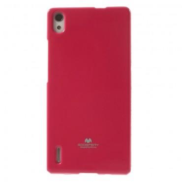 TPU géles Goospery Jelly Case védőtok Huawei P8 Lite készülékekhez – magenta