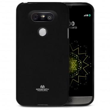TPU géles Goospery Jelly Case védőtok LG G5 készülékekhez – fekete