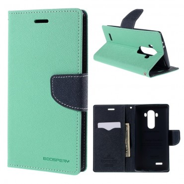 Goospery Fancy Diary tárca LG G5 készülékekhez – világoskék