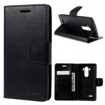 Elegáns Goospery Sonata tárca LG G5 készülékekhez – fekete