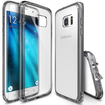 """Ringke """"Fusion"""" védőtok Samsung Galaxy S7 készülékekhez – smoke black"""