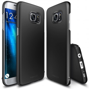 "Cover Ringke ""Slim"" per Samsung Galaxy S7 Edge  - col. sf black"