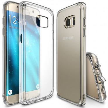 """Tok Ringke """"Fusion"""" Samsung Galaxy S7 Edge készülékekhez - crystal view"""