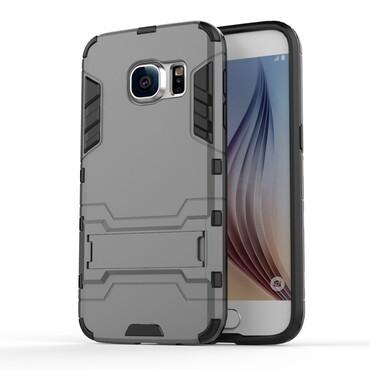 """Strapabíró """"Impact X"""" védőtok Samsung Galaxy S7 készülékekhez – szürke"""