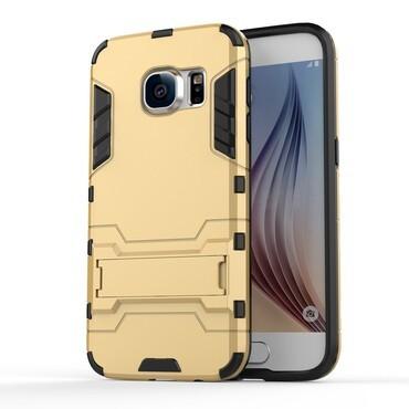 """Strapabíró """"Impact X"""" védőtok Samsung Galaxy S7 készülékekhez – aranyszínű"""