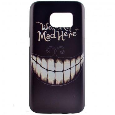"""Kemény TPU tok """"Mad Smile"""" Samsung Galaxy S7 készülékekhez"""