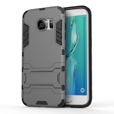 """Strapabíró """"Impact X"""" védőtok Samsung Galaxy S7 Edge készülékekhez – szürke"""