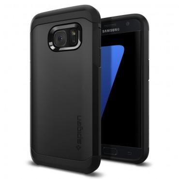 """Tok Spigen """"Tough Armor"""" Samsung Galaxy S7 készülékekhez - black"""