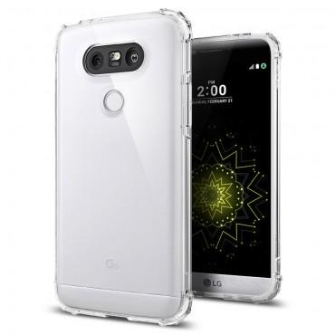 """Spigen """"Crystal Shell"""" védőtok LG G5 készülékhez – clear crystal"""