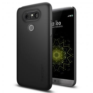"""Spigen SGP """"Thin Fit"""" védőtok LG G5 készülékekhez – fekete"""