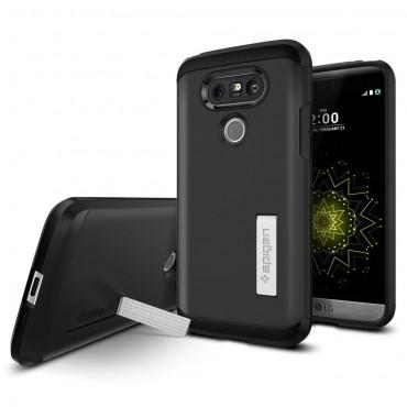 """Tok Spigen """"Tough Armor"""" LG G5 készülékekhez - black"""