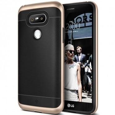 Caseology Wavelength védőtok LG G5 készülékekhez – aranyszínű