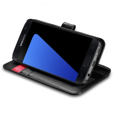 """Spigen """"Wallet S"""" tárca Samsung Galaxy S7 készülékekhez – fekete"""