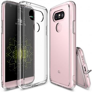 """Tok Ringke """"Fusion"""" LG G5 készülékekhez - crystal view"""