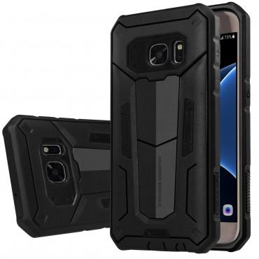 """Strapabíró """"Defender"""" védőtok Samsung Galaxy S7 készülékekhez – fekete"""