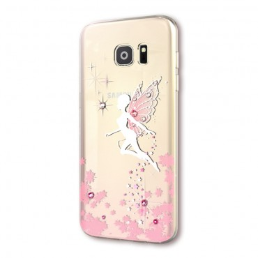 Fairy prémium védőtok Samsung Galaxy S7 készülékekhez – rózsaszín