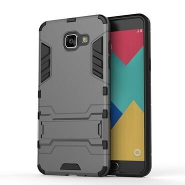 """Strapabíró """"Impact X"""" védőtok Samsung Galaxy A5 2016 készülékekhez – szürke"""