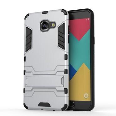 """Strapabíró """"Impact X"""" védőtok Samsung Galaxy A5 2016 készülékekhez – ezüstszínű"""