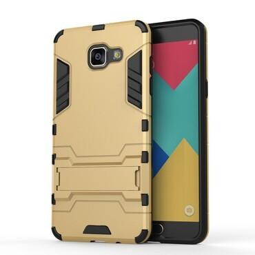 """Strapabíró """"Impact X"""" védőtok Samsung Galaxy A5 2016 készülékekhez – aranyszínű"""