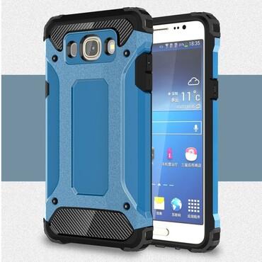 """Strapabíró """"Rock"""" védőtok Samsung Galaxy J5 2016 készülékekhez – kék"""