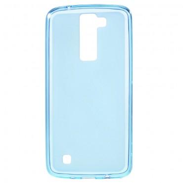 TPU gél tok LG K8 készülékekhez - kék