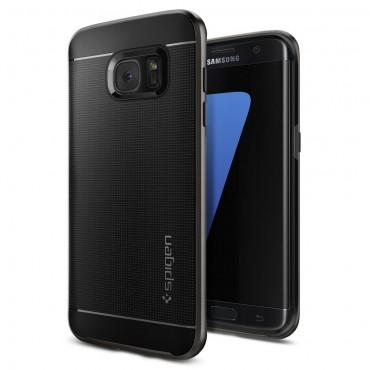 """Tok Spigen """"Neo Hybrid"""" Samsung Galaxy S7 Edge készülékekhez - gunmetal"""