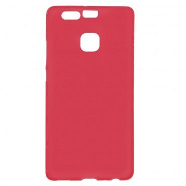 TPU géles védőtok Huawei P9 készülékekhez – piros