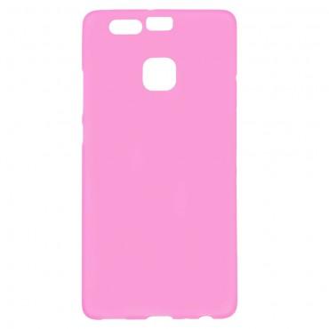 TPU géles védőtok Huawei P9 készülékekhez – rózsaszín