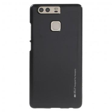 Goospery iJelly Case TPU géles védőtok Huawei P9 készülékekhez – fekete