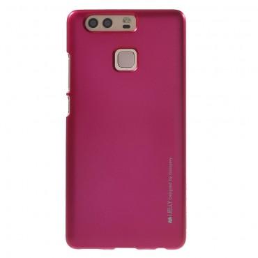 Goospery iJelly Case TPU géles védőtok Huawei P9 készülékekhez – magenta