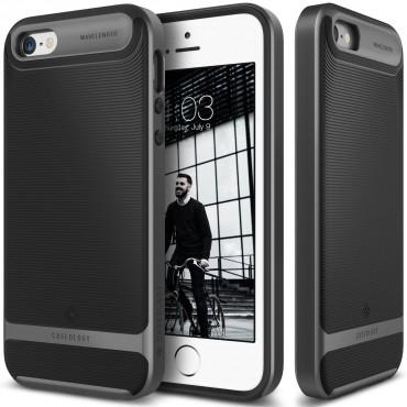 Caseology Wavelength Series New védőtok iPhone SE / 5 / 5S készülékekhez – fekete