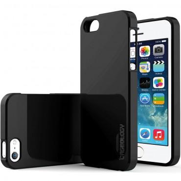Caseology Daybreak Series védőtok iPhone SE / 5 / 5S készülékekhez – fekete